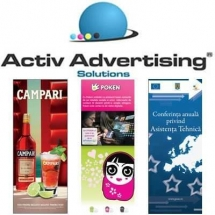 ActivAdvertising - Roll-up - 30 euro buc