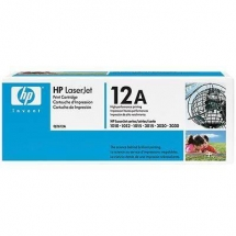 Cartus Hp 12A Q2612A Black