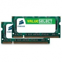 Corsair KIT 2x2 SODIMM DDR2 4GB 800Mhz VS4GSDSKIT800D2
