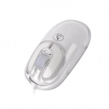 A4Tech BW-9-1, U Shape Big Wheel Optical Mouse USB (White) BW-9-1