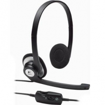Logitech Clear Chat Stereo PC Headset with microphone - New 981-000025