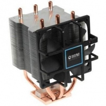 TITAN TTC-NK34TZ/R0/V3 Heatpipe cooler for INTEL 1156/1366 w/Z-bearing fan