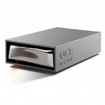 LaCie Starck Desktop Hard Drive, 1TB, USB 2.0, AC Powered (301888EK) 301888EK