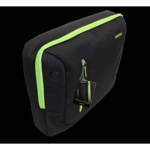 "Laptop Case CANYON  Bag for 16"" Laptop Black/Green CNR-NB17L"