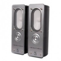 A4Tech AU-200-2, 2.0 Stereo Speakers (Black) AU-200-2