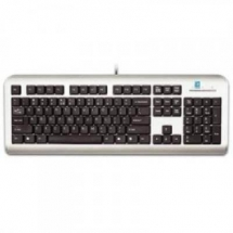 A4Tech KM-720, Standard Keyboard PS/2 (Silver/Black) (US layout) KM-720-SB