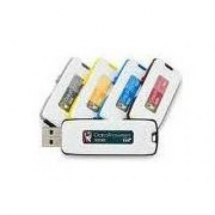 KINGSTON Data Traveler 101 Gen 2, 4GB DT101G2, USB 2.0, Cyan DT101G2/4GB