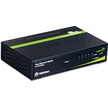 TRENDNET TE100-S50G Switch 5-port, 10/100MBPS, GREENnet, Metal case TE100-S50G