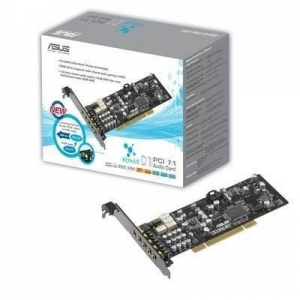 ASUS XONAR-D1 7.1 Channel Audio Card with Low Profile design XONAR-D1