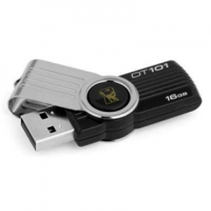 Kingston 16GB DataTraveler 101 Gen 2 (Black) DT101G2/16GB