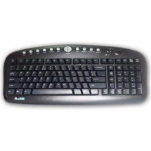 A4Tech KBS-27, ANTI -RSI Keybaord USB (Black) (US layout) KBS-27-USB