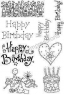 Stampile transparente Happy Birthday Set 1