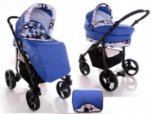 Carucior copii 2 in 1 Mystroll Happy Blue