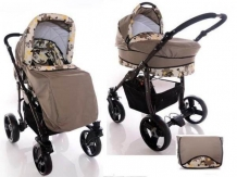 Carucior copii 2 in 1 Mystroll Happy brown