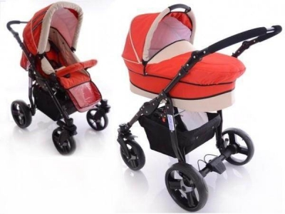 Carucior Mystroll 2 in 1  Paloma Lovely red