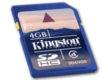 KINGSTON NAND Flash SD Card High Capacity 4GB