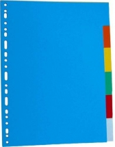 Separatoare carton color 180g/mp,  5/set, LANDS