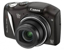 CANON PHOTO PSSX130ISBK 12.1MP BLK