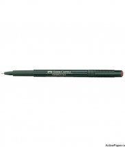LINER 0.4MM ROSU FINEPEN 1511 FABER-CASTELL