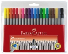 LINER 0.4MM SET 20 GRIP FABER-CASTELL
