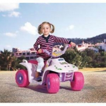 Atv electric copii Quad Princess - Peg Perego