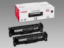 Cartus Toner Canon CRG-718VP Black Dual Pack