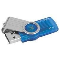 Flash USB Kingston Data Traveler 101 G2 4GB Cyan