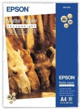 Hartie mata A4 Epson Heavy Weight C13S041256