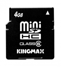 Card memorie Kingmax Mini-SDHC 4GB