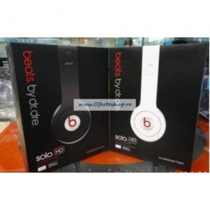 Casti audio Monster Beats by Dr Dre Solo HD