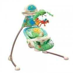 Leagan Rainforest Open-Top Cradle - Fisher-Price