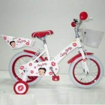 Ironway - Bicicleta Betty Boop Kiss 14 Pink/ 14 Red