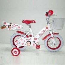 Ironway - Bicicleta Betty Boop Kiss 12 Red Ironway