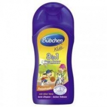 Bubchen - 3 in 1 : Sampon, Gel de dus si Balsam x 200ml