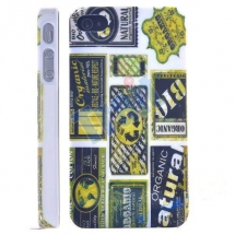 Husa Apple iPhone 4 / 4S Hard Case Love Natural Organic