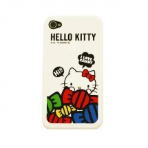 Husa Hello Kitty Apple iPhone 4 / 4S SAN-57KTB
