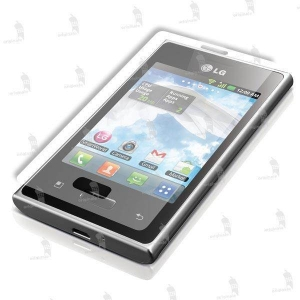 LG E400 Optimus L3 folie de protectie Guardline Ultraclear
