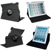Husa Apple iPad Air rotativa neagra