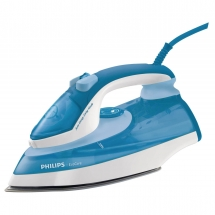Fier de calcat Philips GC3721/32, 2400 W, talpa SteamGlide, anti-calcar
