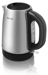 Fierbator Philips HD 9320, 1.7 l, 2200 W, filtru anticalcar