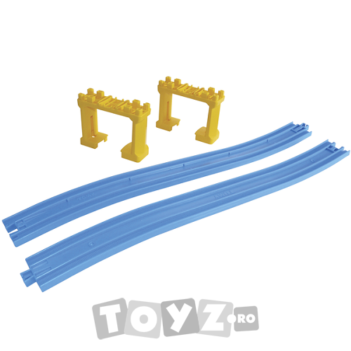 Tomica: Set 2 sine inclinate si 2 traverse