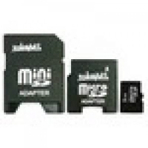 TakeMS Memorie 2GB MicroSD, 3 in 1 solution (2 adapt.) MS1024TFL010R-2