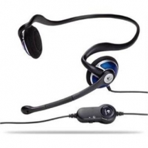 LOGITECH ClearChat Style Premium Behind-the-Head Stereo PC Headset