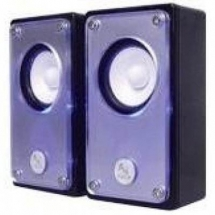 A4Tech AU-100-2, 2.0 Stereo Speakers (Black) AU-100-2