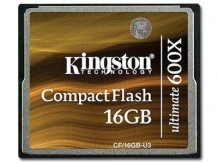 KINGSTON CompactFlash Ultimate 600x NAND 16GB 600x