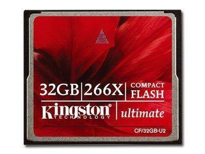 KINGSTON CompactFlash Ultimate 266X NAND Flash 32GB 266x