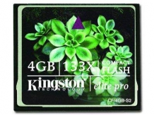 KINGSTON CompactFlash Elite Pro 133X NAND  Compact Flash 4GB
