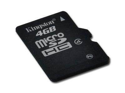 KINGSTON NAND Flash Micro SDHC 4GB