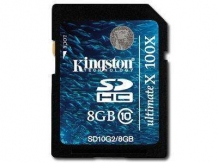KINGSTON NAND Flash SD Card High Capacity 8GB