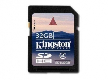 KINGSTON NAND Flash SD Card High Capacity 32GB